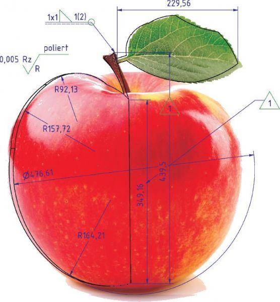 Apfel-bemaßt-freigestellt